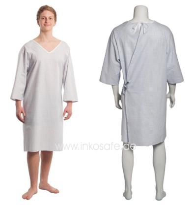Pflegehemd, Patientenhemd suprima 4064, für Damen und Herren