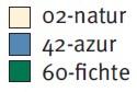 Farben für Pflegeoverall Sanisana 8015