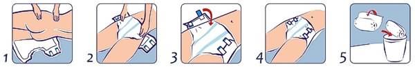 Seni Standard Air Windelhosen richtig anlegen - im liegen