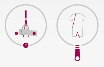 suprima Pflegeoverall CareFunction 4702 mit Beinreißverschluss, Rückenreißverschluss