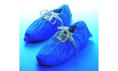 Hygiene-Überschuhe aus CPE, blau, 2000 Stück
