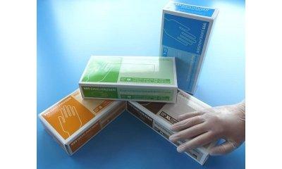 Vinyl-Handschuhe Größe L (Large), puderfrei, Dahlhausen