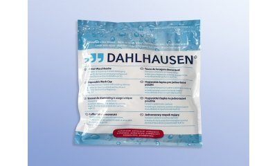 Dahlhausen Waschhauben antibakt. Shampoo + Spülung, 20 Stück