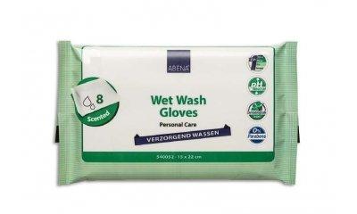 Abena feuchte Waschhandschuhe, parfümiert, 8 Stück