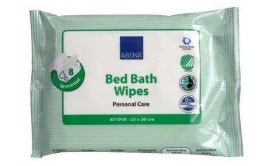 Abena BED BATH WIPES, Einmal-Waschlappen feucht, 8 Stück