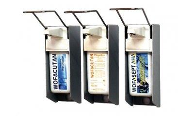 Armhebel-Wandspender für 1000 ml Flaschen, langer Armhebel