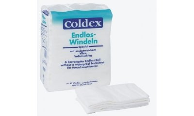 ATTENDS COLDEX Endloswindeln zum Zuschneiden, 30 Stück