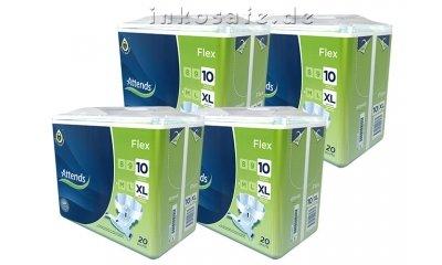 Attends Flex 10 X-Large (XL), Inkontinenzslips, 80 Stück