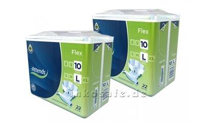 Attends Flex 10 Large (L), Inkontinenzslips, 44 Stück