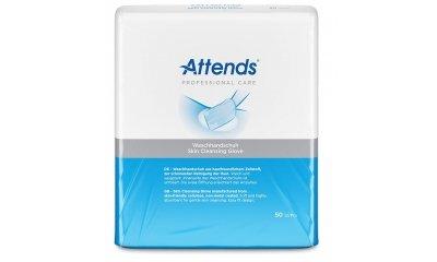 Waschhandschuhe ATTENDS Professional Care, 50 Stück
