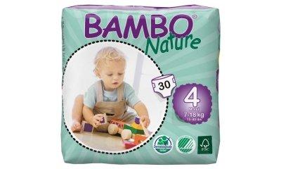Bambo Nature MAXI Babywindeln, Gr.4 (7-18 kg) - 30 Stück