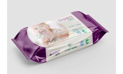 Bambo Nature Feuchttücher für Babys, ohne Duft, 80 Stück