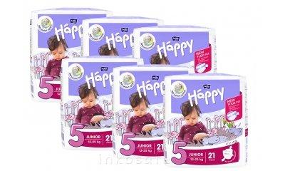Babywindeln Bella Happy Junior, Gr. 5 (12-25 kg) - 126 Stück