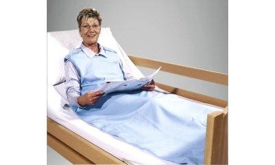 Pflegeschlafsack suprima 4693, für Erwachsene, Bleu