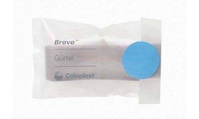 BRAVA Stomagürtel, verstellbar, Länge 100 cm, weiß