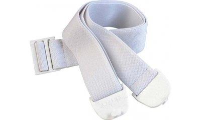 DANSAC Stomagürtel, verstellbar, Länge 100 cm, weiß
