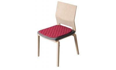 Anti-Rutsch-Sitzauflage suprima 3704, rot, 40 x 50 cm