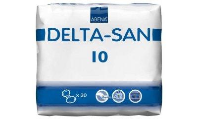 Abena DELTA SAN Nr. 10, Inkontinenzvorlagen, 20 Stück