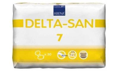 Abena DELTA SAN Nr. 7, Inkontinenzvorlagen, 30 Stück