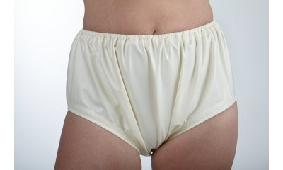 Latex-Windelhose komplett geklebt, Taillengummi 5 mm