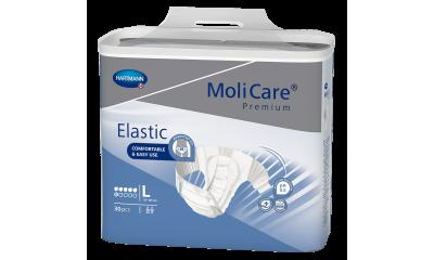 MoliCare Premium Elastic 6 Tropfen Gr. L - 1652731