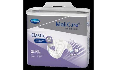 MoliCare® Premium Elastic 8 Tropfen Gr. L - 1654731