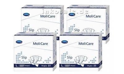 MoliCare Slip Maxi L (Large), Inkontinenz-Slip, 56 Stück