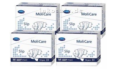 MoliCare Slip Maxi M (Medium), Inkontinenz-Slip, 56 Stück