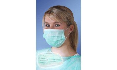 Mundschutz, Gesichtsmasken, latexfrei, 3-lagig, 50 Stück