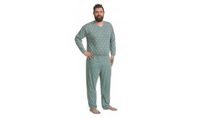 Pflege-Schlafanzug suprima 4719, Rücken- u. Bein-RV