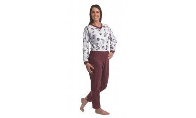Pflege-Schlafanzug suprima 4720, Rücken- u. Bein-RV