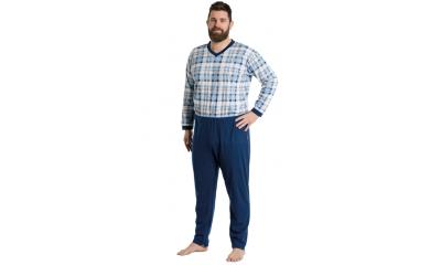 Pflege-Schlafanzug suprima 4718, Rücken- u. Bein-RV