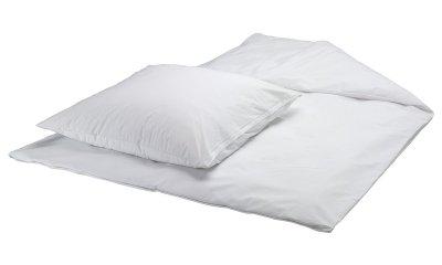 PVC-Bettwäsche-Garnitur suprima 3620, Farbe weiß