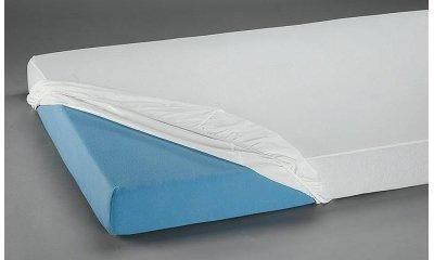 PVC-Spannbetttuch suprima 3063, 100x200x20 cm, weiß