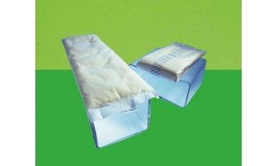 CLASSIC PAD MAXI, Rechteckvorlagen mit Folie, 120 Stück