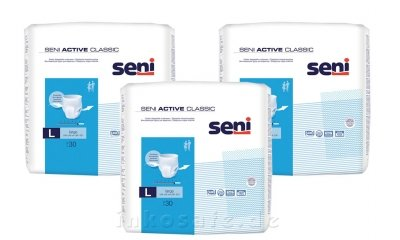 Seni Active Classic Large, Inkontinenzslip, 90 Stück