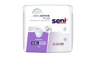 SENI ACTIVE PLUS XX-LARGE (XXL), Inkontinenzslip, 10 Stück