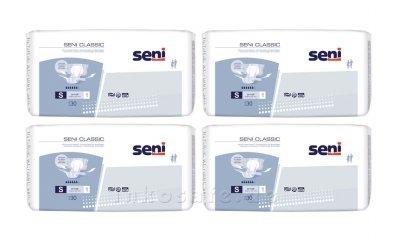 Seni CLASSIC Small (S), Windelhosen Tag, 120 Stück