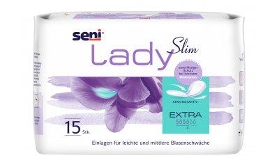 Seni Lady Slim Extra Inkontinenzeinlagen, 15 Stück