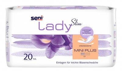Seni Lady Slim Mini Plus Inkontinenzeinlagen, 20 Stück