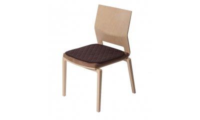 Sitzauflage suprima 3703, mokka, 45 x 45 cm