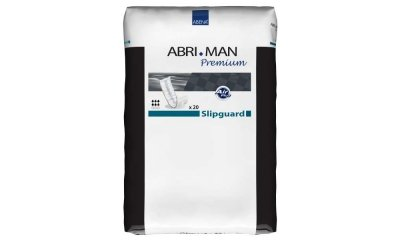 Abri Man Slipguard Premium, Slipeinlagen Männer, 20 Stück
