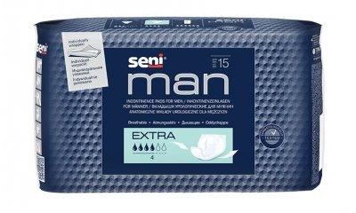 SENI MAN Extra, Slipeinlagen für Männer, 15 Stück