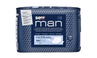 SENI MAN Normal, Slipeinlagen für Männer, 15 Stück