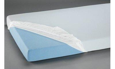 Jersey-Spannbetttuch suprima 3070, 100x200x24 cm, weiß