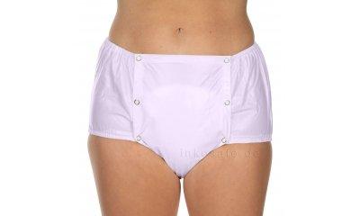 PVC-Hose suprima 1201, Inkontinenzslip, knöpfbar, farbig