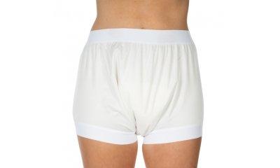 PU-Inkontinenz-Slip suprima 1217, breiter Schritt, weiß