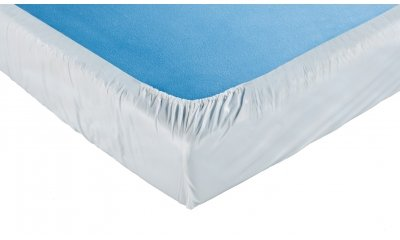 PVC-Spannbetttuch suprima 3066, 100x200x20 cm, weiß