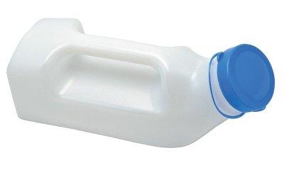 Sundo Urinflasche für Männer, mit Griff und Deckel, 1000 ml