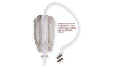 Beinbeutel UROSID® 3K 750 ml, Schlauch 50 cm